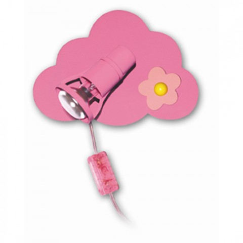 Lampe Chevet Enfant Rose Flower