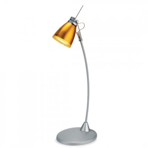 Lampe de Bureau LED Sourire Orange