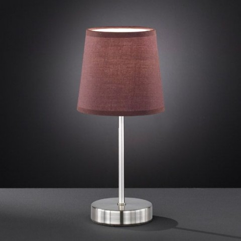 Lampe Design Amalia Marron