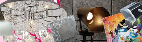 Lampe romantique ou lustre cuisine Rock n'roll ?