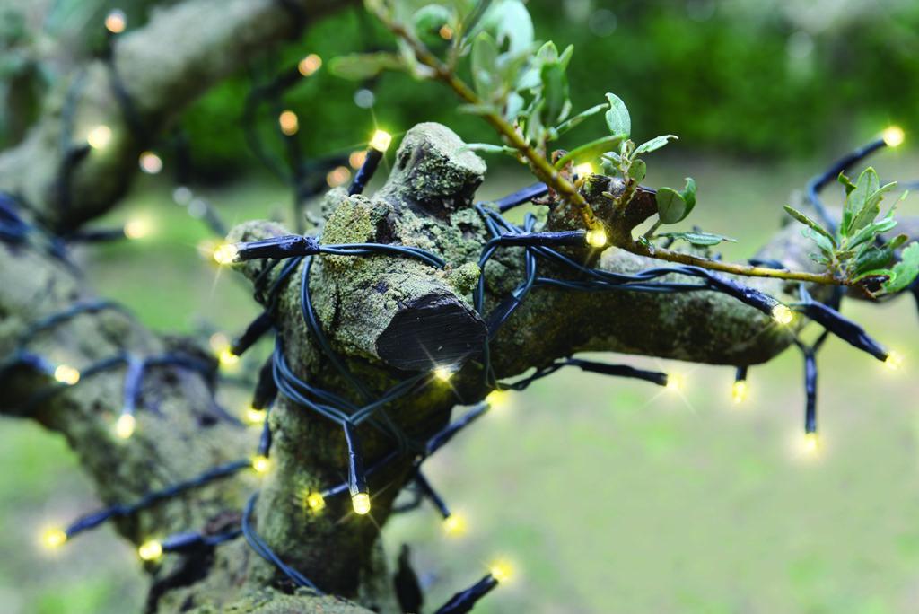 Décorer son jardin avec une guirlane lumineuse