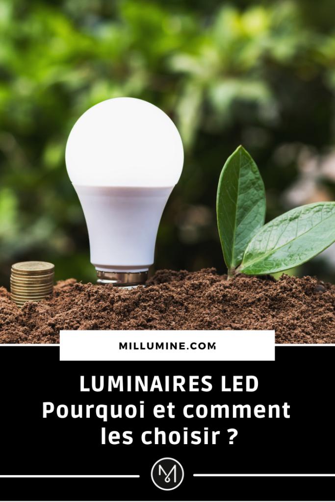 Article LED épingle Pinterest