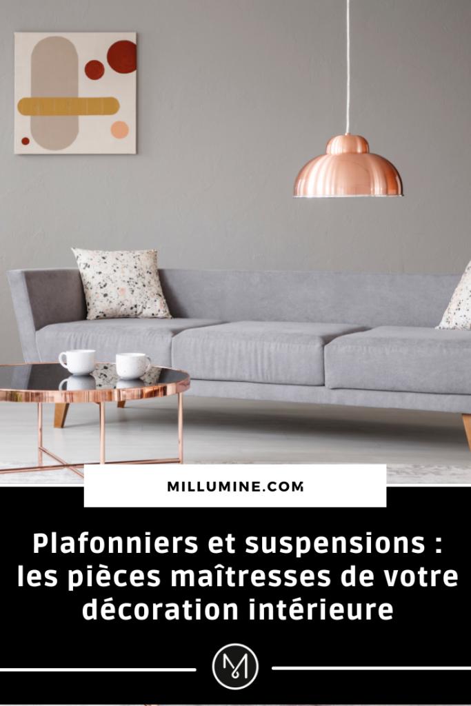Plafonniers et suspensions pinterest 1